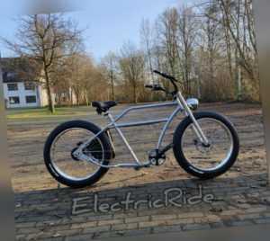 Pedelec E-Bike Cruiser Chopper Porucho echopper ElectricRide ebike Kundenwunsch