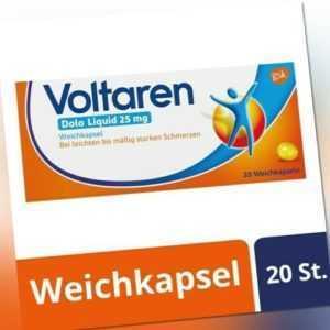 VOLTAREN Dolo Liquid 25 mg Weichkapseln 20 St.  PZN: 05023939