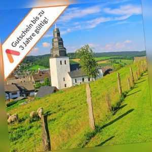 Kurzreise Sauerland Gevelsberg 3 Tage für 2 Personen Hotel Freunde Gutschein