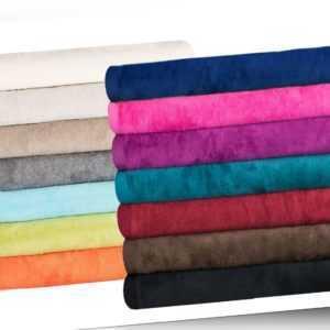 Luxus Kuscheldecke Moon 150x200 Baumwoll Decke / Dralon Decke /