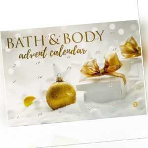 Kosmetik Adventskalender für Damen Frauen - Weihnachtskalender Bath & Body  TOP