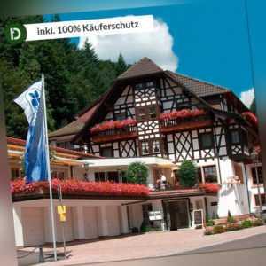 Schwarzwald 8 Tage Bad Peterstal Urlaub Hotel Adlerbad Gutschein Halbpension