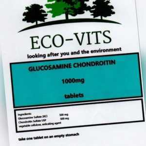 Glukosamin + Chondroitin 1000mg 365 Tabletten Gelenk Pflege Knorpel