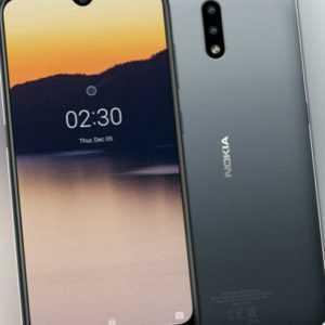 Nokia 2.3 4G Single Sim Black