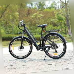 E-Bike 26 Zoll Elektrofahrrad Mountainbike 250W / 36V Shimano Pedelec EBIKE - M9