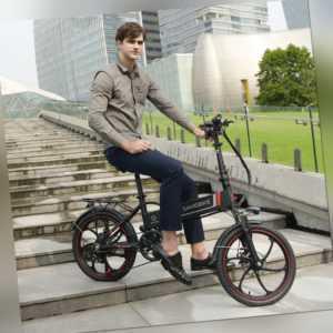 20 Zoll Klappbare Elektrofahrrad Electric Moped E-Bike 350W Motor 35km/h Bicycle
