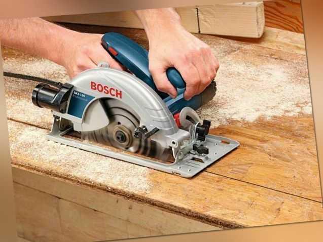 Bosch Handkreissäge GKS 190 Professional 1400 W Kreissäge Ø 190 mm