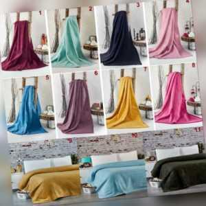 Decke Baumwolldecke Kuscheldecke Tagesdecke Couchdecke  Wohndecken