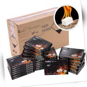 1152x Anzündwürfel Kaminanzünder Kohle-Anzünder BBQ-Grillanzünder Ofenanzünder