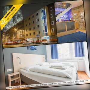 Städtereise Köln 2 Tage 2 Personen a&o Hotel Hotelgutschein Kurzreise Kurzurlaub