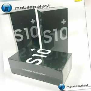 SAMSUNG Galaxy S10+ Plus 128GB Black Smartphone ohne Branding OVP ...