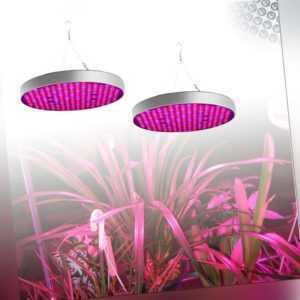 2x 50W 250 LED Grow Wuchs Pflanzenlampe Wachsen Licht Wachstumslampe Rot Blau UV