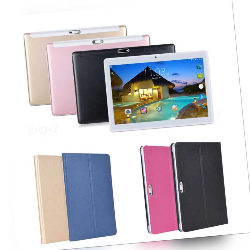 XGODY Android Tablet PC 10 Zoll Quad-Core Dual Kamera 3G Phablet 1+16GB WLAN GPS