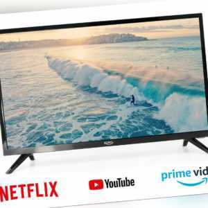 Smart TV HD Fernseher 24 zoll Triple Tuner XORO HTL 2476 WLAN C+
