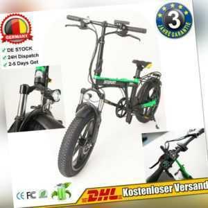 Elektro fahrrad Faltbar Fahrrad E-Bike Klapprad Snow Bike Mountainbike IP64 yk
