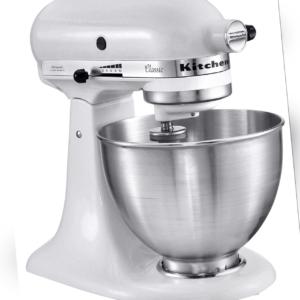 Kitchenaid Küchenmaschine Classic 5K45SSEWH Onyx Weiß 4,3 Liter NEU/OVP