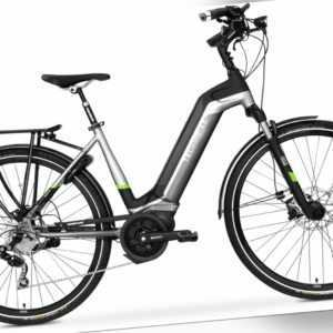 28 Zoll Fahrrad TechniBike E-Bike Shimano 10 Gang Kette Conti Akku 70Nm Gr.M