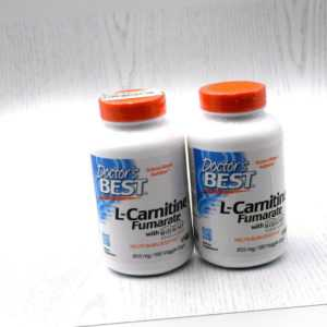 Doctor's Best, L-Carnitine Fumarate with Biosint Carnitines, 855 mg, 2x 180 Kaps