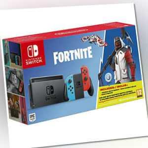 Nintendo Switch Konsole Spiel Fortnite Bundle NEU