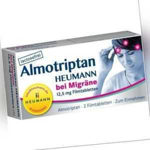 ALMOTRIPTAN Heumann bei Migräne 12,5 mg   2 st   PZN10750044