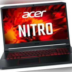 "Acer Nitro AN517 17,3"" FHD 120Hz GAMER i7-9750H 1TB SSD 16GB NVidia GTX 1650 W10"