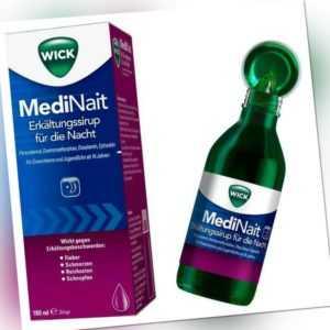 WICK MediNait Erkältungssirup 180 ml PZN: 1689009