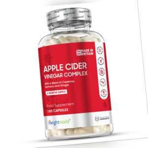 Apfelessig Kapseln - 1000mg Apfel Essig - schnell Abnehmen & Fettverbrennung