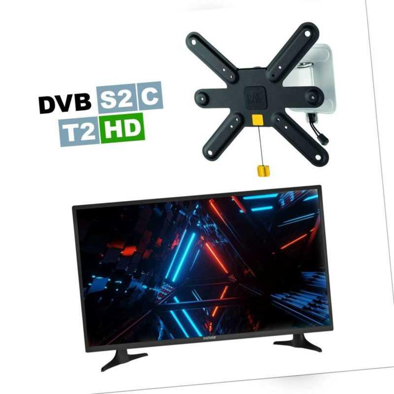 DENVER® LED3279 HDTV 32 Zoll Fernseher TripleTuner HDMI CI+ DVB T2/S/C USB EEK A