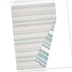 Richter Textilien Wohndecke Tris reine Bio-Baumwolle