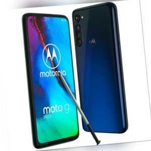 Motorola Moto G Pro 4RAM 128GB Mystic Indigo 6,4 Zoll Android Smartphone LTE NEU