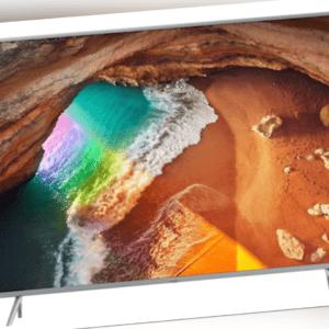Samsung GQ55Q64R 138cm (55Zoll) Anthrazit 4K QLED PQI 3100 2xDVB-C/S2/T2 SmartTV