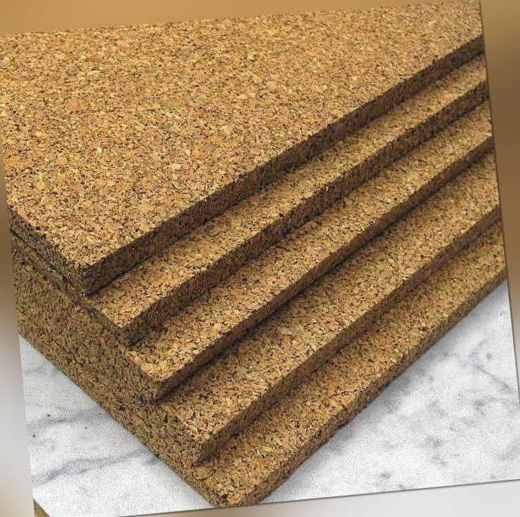 Pinnwand, Korkplatten, Wandkork, Korkdämmung, Kork,  8 mm und 10 mm Stark