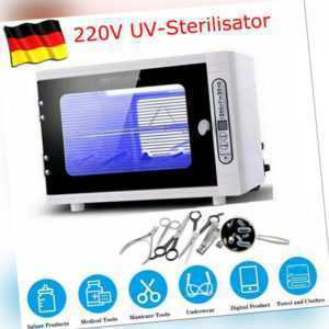 UV-Sterilisator Desinfektionsschrank Dental Ultraviolett-Sterilisations Box 10L