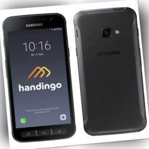 Samsung Galaxy Xcover 4 Schwarz 16 GB SM-G390F Smartphone  - Wie...