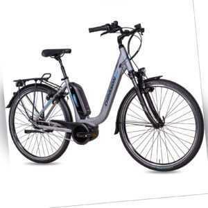 28 Zoll E-Citybike Damenrad CHRISSON E-CASSIOPEA 7G NEXUS BOSCH 400Wh grau