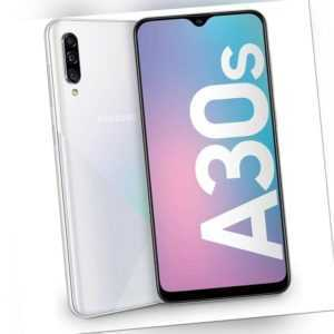 Samsung Galaxy A30s A307 4GB RAM 128GB White Android Smartphone...