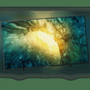 Sony KD43X7055 4K Ultra HD LED Fernseher 108 cm [43 Zoll] Smart TV HDR Schwarz