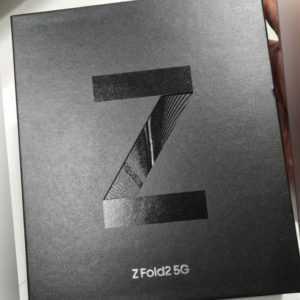 Samsung Galaxy Z Fold 2 5G SM-F916B 256GB Mystic Black  Händler...