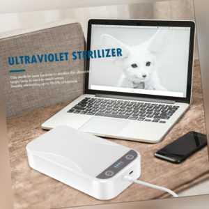 Tragbare UV-Desinfektionsbox Aromatherapie-Sterilisator Haushaltstelefon-Desinfe
