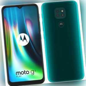 Motorola Moto G9 Play Smartphone 64GB 4GB RAM Green 6,5 Zoll...