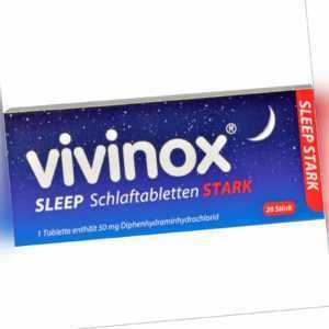 vivinox sleep stark Schlaftabletten, 20 St. Tabletten 2083906