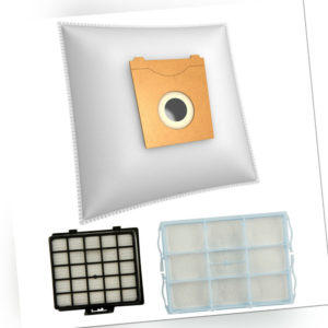 20-40-60 Staubsaugerbeutel geeignet für Siemens VS...+ 1 Hepa- + 1 Motorfilter