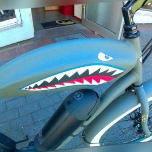 e-Bike Pedelec Cruiser  Beachcruiser Electra Tiger Shark ElectricRide