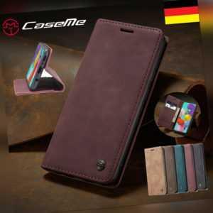 Hülle Huawei P30 P40 Lite Pro P20 Leder Magnet Handy Tasche Schutz Flip Case