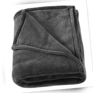 1x Kuscheldecke Wohndecke Tagesdecke Überwurf Sofadecke Fleece
