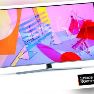 Samsung GQ65Q67TGUXZG Fernseher QLED 65 Zoll 163 cm 4K UHD Smart TV HDR EEK: A+