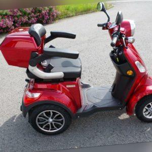 Elekto Scooter Elektroroller Senioren Roller Moped 4 Räder