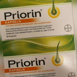 Priorin Kapseln 2 X  30 Stück=60 St Versorgt die Haarwurzel mit Mikronährstoffen