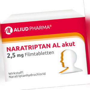 Naratriptan AL akut 2,5 mg Filmtabletten, 2 St. Tabletten 9312936