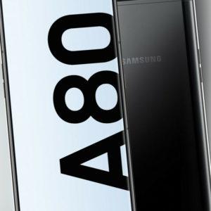 Samsung Galaxy A80 SM-A805F DUAL SIM Phantom Black, TOP Zustand